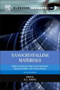 Nanocrystalline Materials, Their Synthesis-structure-property Relationships and Applications