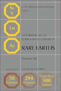 Handbook on the Physics and Chemistry of Rare Earths, Including Actinides
