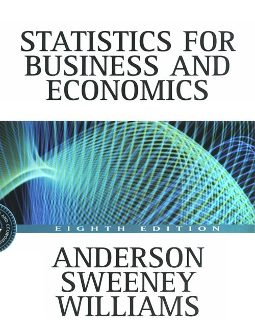 STATISTICS FOR BUSINESS AND ECONOMICS + CD ROM