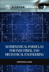 Mathematical Formulas for Industrial and Mechanical Engineering